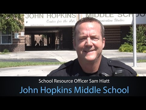 Meet John Hopkins Middle School's Resource Officer Sam Hiatt