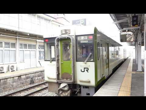 いいエンジン音 キハ111 212+キハ112 212 長野駅発車