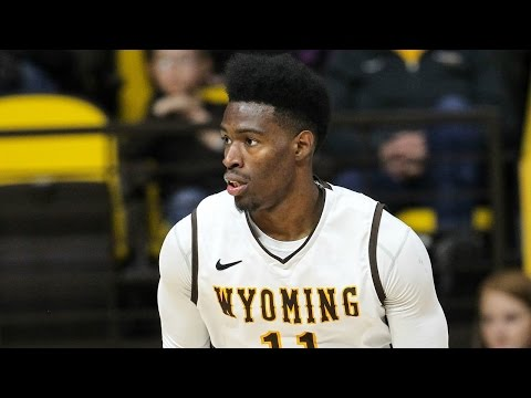 Wyoming's Derek Cooke, Jr. Shows Off On Senior Night | CampusInsiders