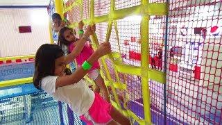 Locuras en el PARQUE DE TRAMPOLINES!!! Vacaciones de Verano | TV ANA EMILIA