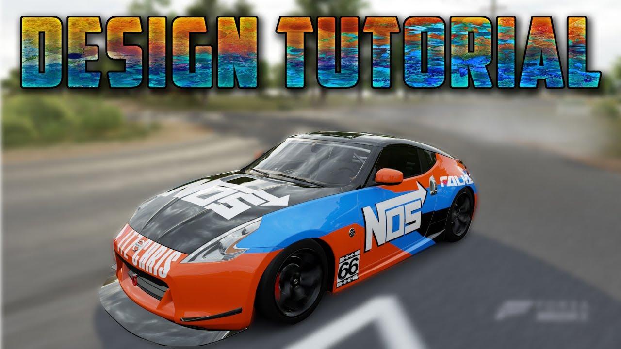 Formula Drift Nos Wrap Tutorial Design Showcase 3 Youtube