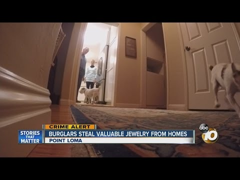 Burglars steal valuable jewelry from homes