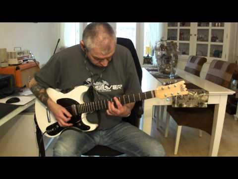 RAMONES - Teenage Lobotomy (guitar cover with backing track)