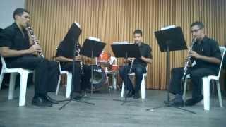 Clarinete Buliçoso (Frevo) - Quarteto de Clarinetes