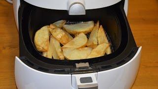 Papas fritas Saludables con la Freidora de aire Philips ( AirFryer )