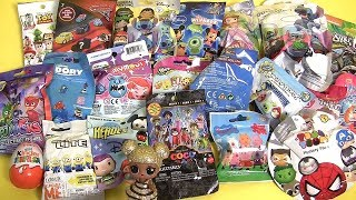 21 Surprise Blind Bags HUGE unboxing