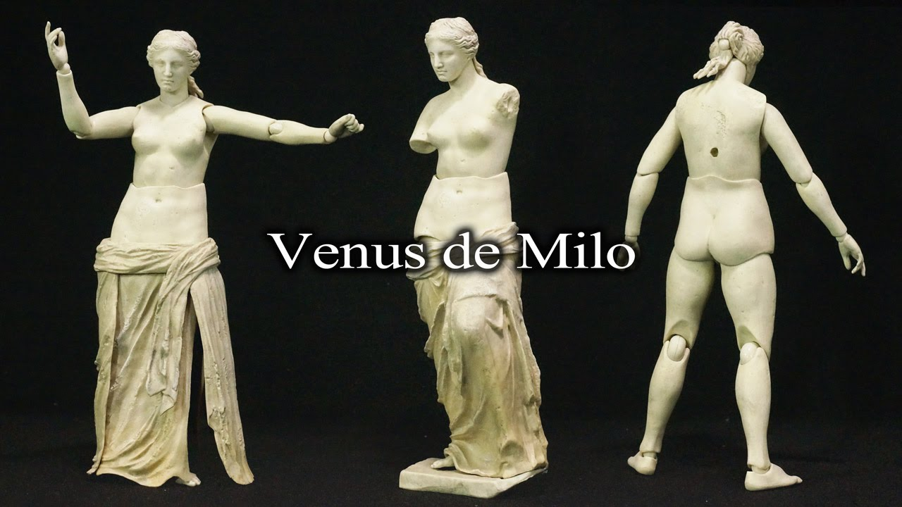 FREEing Table Museum The Venus De Milo Figma Action Figure