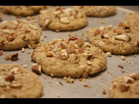 ALMOND COOKIES - HEALTHY FOOD - DIABETIC FOOD - How To QUICKRECIPES
