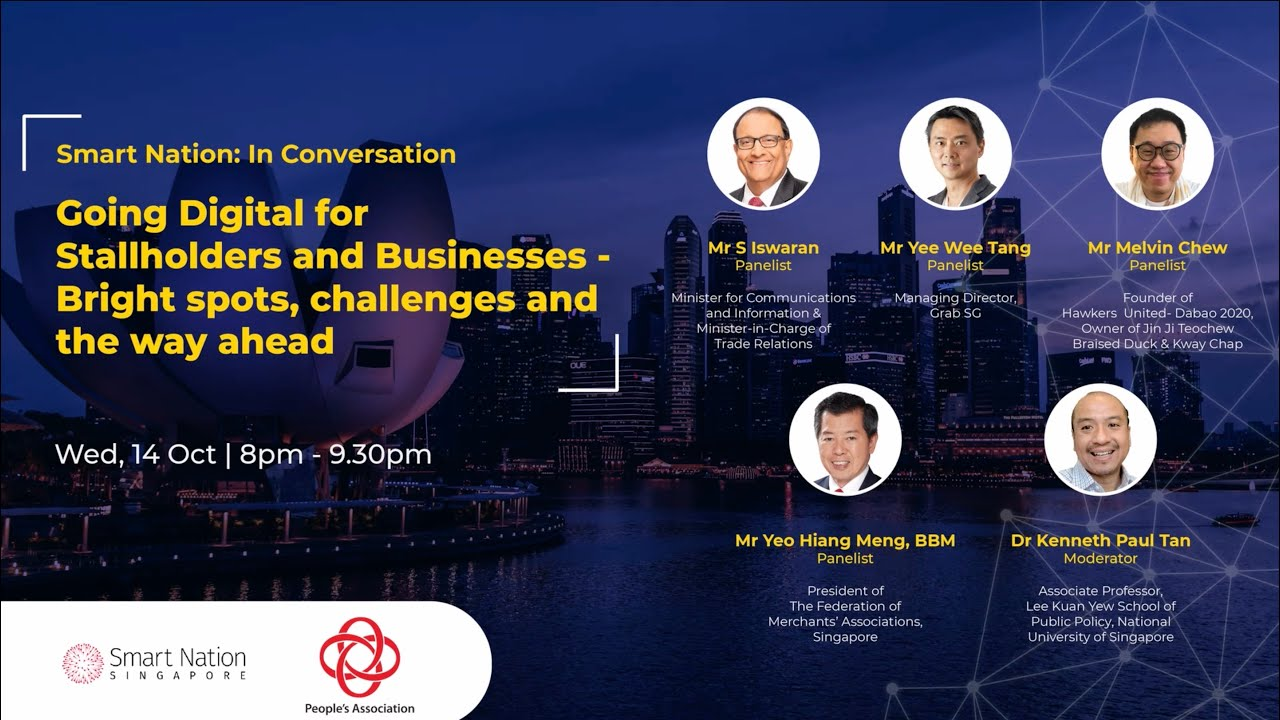 Moderated a webinar discussion on digitalization and micro-businesses, 14 October 2020