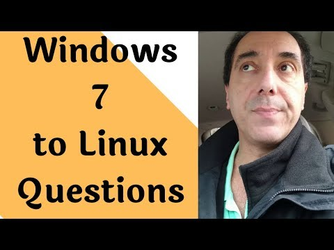 Windows 7 To Linux Common Questions