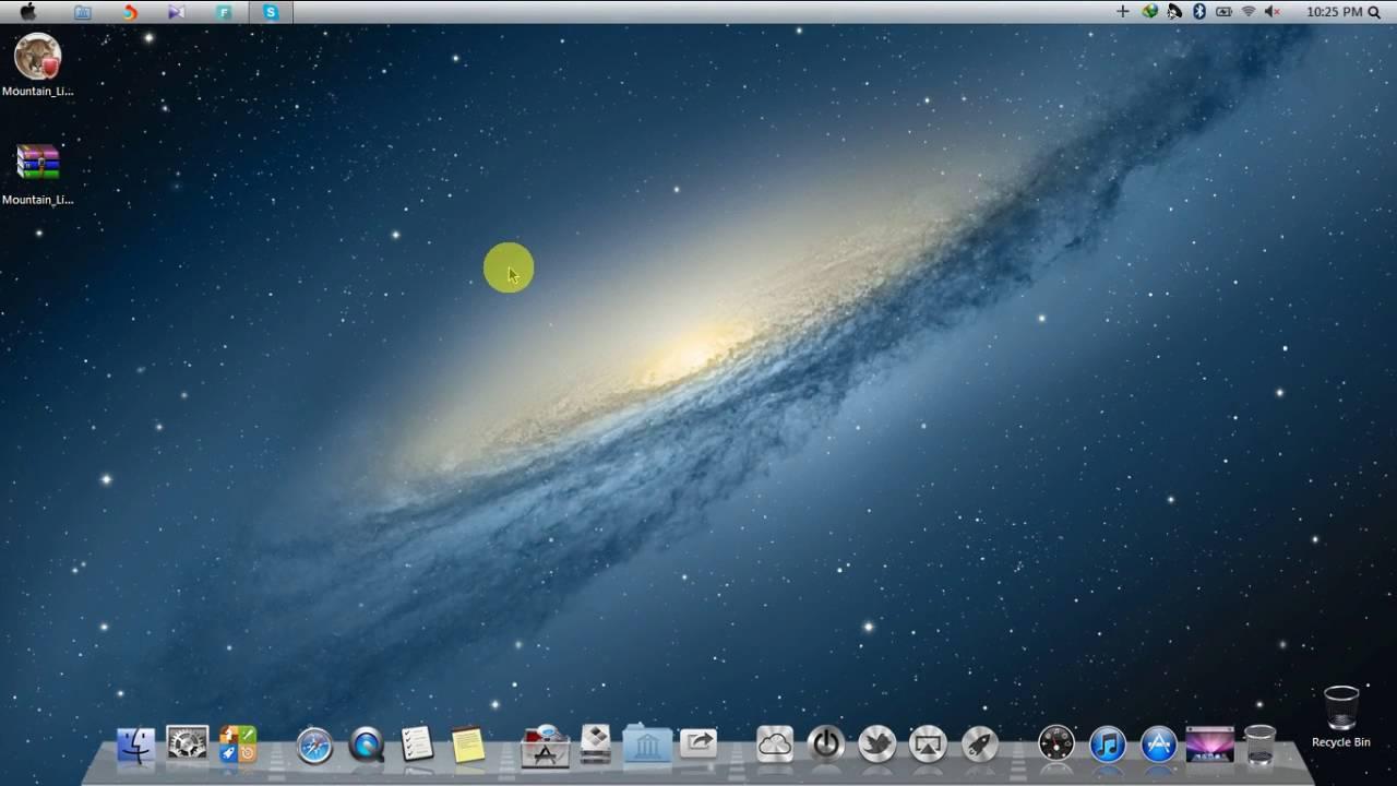 mac os x theme pack for windows 7