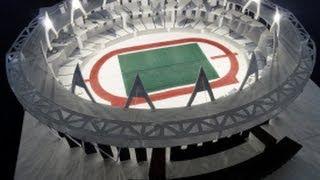 Olympic Stadium London Pop up 倫敦奧運體育館立體彈起卡