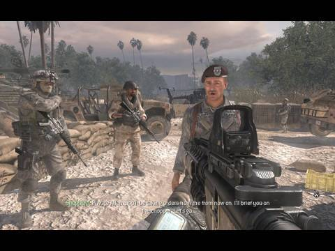 call duty modern warfare team