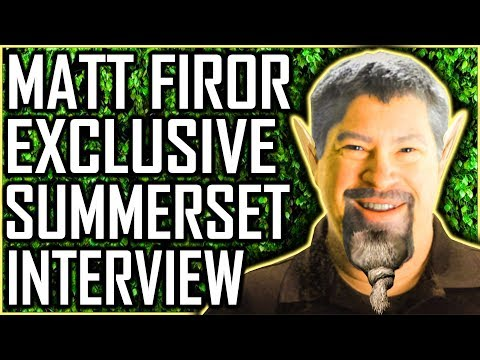 Summerset - Exclusive Interview With Matt Firor - Elder Scrolls Online