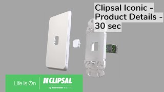 Clipsal Iconic - Stand Alone Electronics - Product Details - 30 sec
