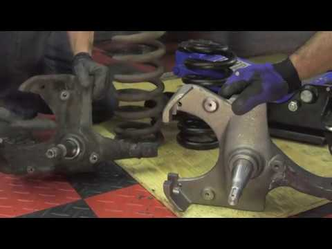 Installing Drop Spindles & Coil Springs - 1963-87 Chevy & GMC Truck