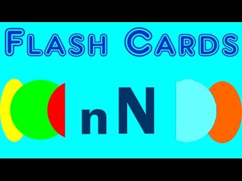 Flash Cards english words starting with the letter N