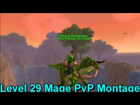 Level 29 Mage Twink PvP Montage [Legion]