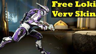 Free Warframe And Loki Verv Skin With Amazon Prime