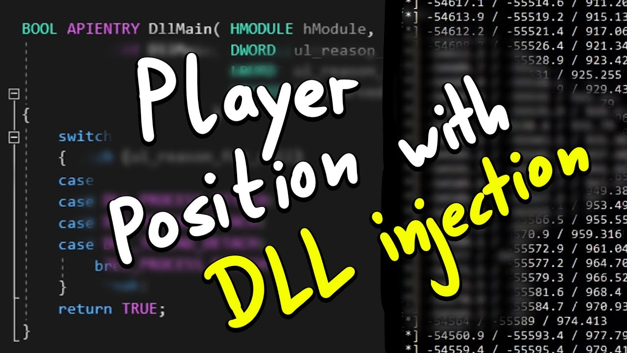 Reading Player Position with DLL Injection - Pwn Adventure 3