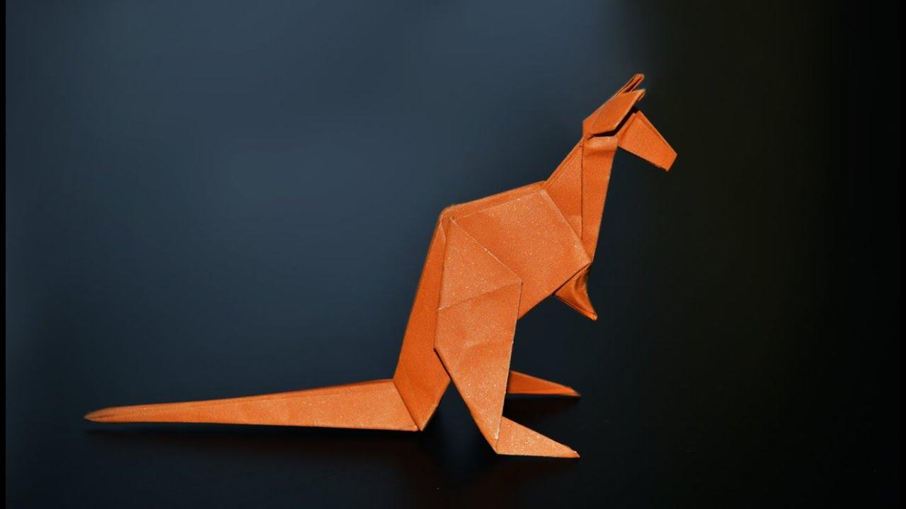 origami kangaroo jo nakashima instructions in english