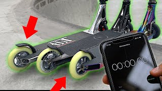 DESTRUCTION DE ROUES CHALLENGE AU SKATEPARK !
