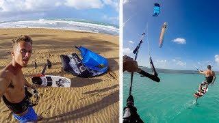 Video Kitefoiling Adventures In Puerto Rico! VLOG 54 download MP3, 3GP, MP4, WEBM, AVI, FLV Oktober 2018
