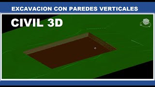 CIVIL 3D 2013 - (7/10) Excavación con Paredes Verticales thumbnail
