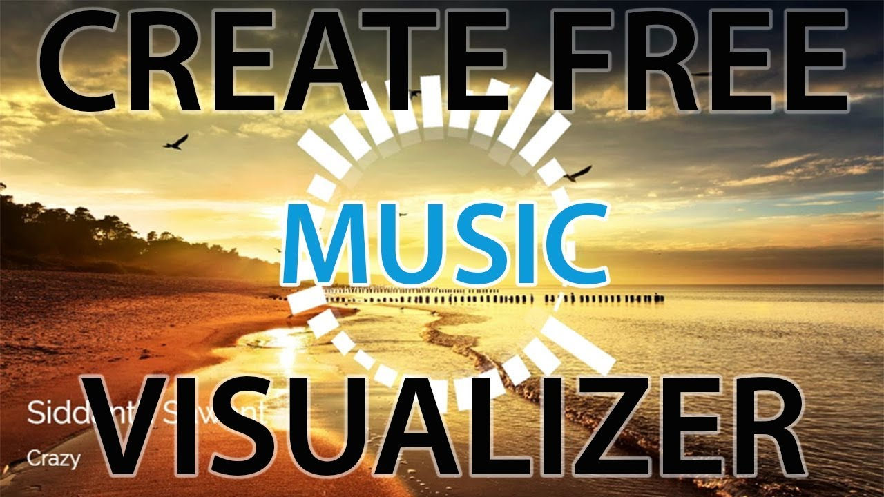 How To Create A Free Audio Visualizer Online Free Youtube