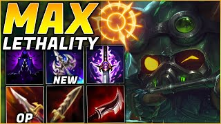 *MAX* (x89) Lethality Teemo Gives INSANE Damage!! | League of Legends (Preseason 10)