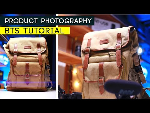 PRODUCT PHOTOGRAPHY TUTORIAL | Behind the Scenes thumbnail