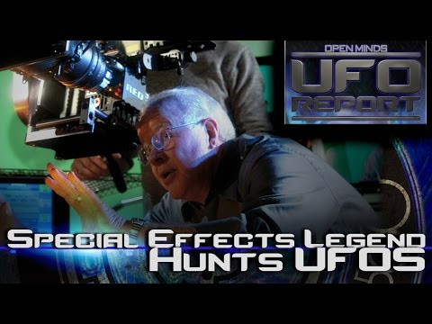 Special Effects Legend Hunts UFOs - Open Minds UFO Report