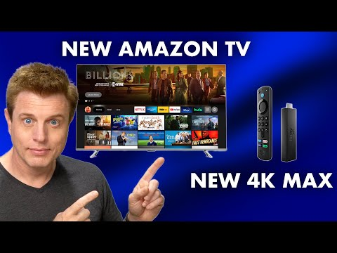 New Amazon Fire TVs and Fire TV 4k Max Announced!