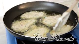 Jamaican Saltfish Fritters