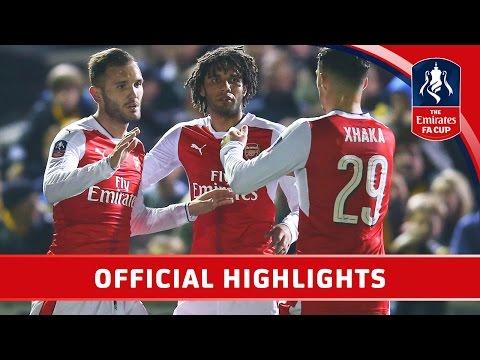 «Арсенал» обыграл «Саттон Юнайтед» и вышел в четвертьфинал Кубка Англии