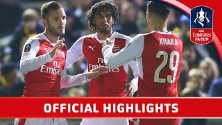 Sutton United 0-2 Arsenal - Emirates FA Cup 2016/17 (R5) | Official Highlights