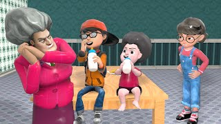 Scary Teacher 3D - Tani Love Nick - If Nick Becomes the Son of Miss T - BuzzFamily Animation