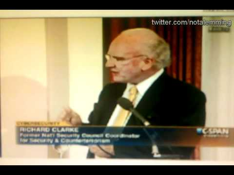 Richard Clarke discuses Stuxnet, IRAN and Somebody made it!