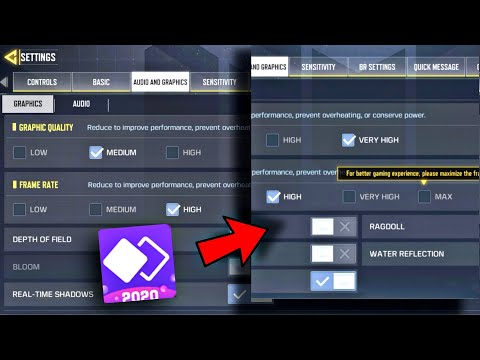 How to Unlock Max FPS/Graphics on CALL OF DUTY MOBILE (THE MOST WORKING WAY)on any ANDROID DEVICES