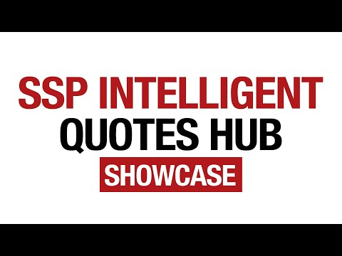 SSP IQH Showcase Overview
