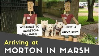 Arriving At Moreton-in-Marsh Caravan And Motorhome Club Site | Meet Up Tour Pt2