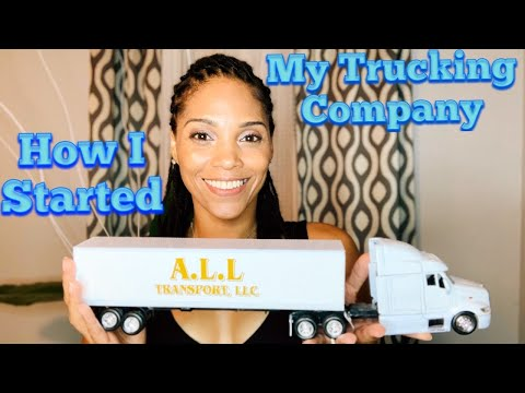 How to start a trucking company!!!