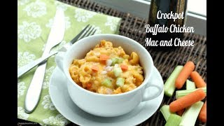 Buffalo Chicken Mac and Cheese (Crockpot) Recipe