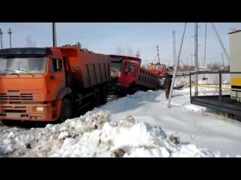 Бешеный КамАЗ смотреть видео прикол - 3:30