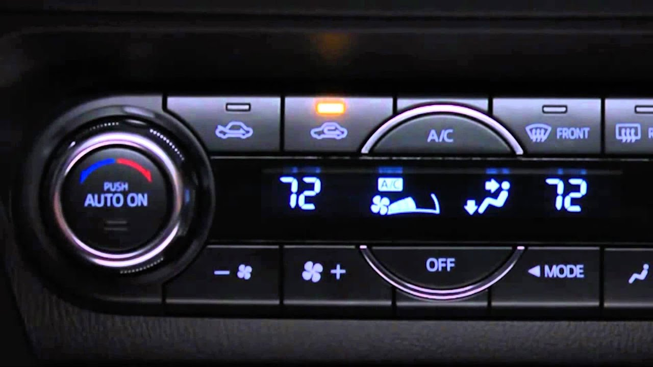 Mazda 3 Service Manual: Climate Control Unit RemovalInstallation Manual Air Conditioner
