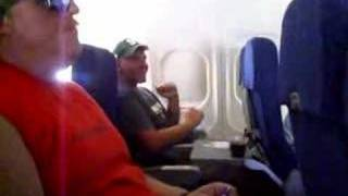 Matt Rogers Bored on a Plane