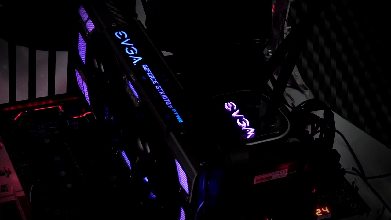 EVGA LED SYNC in Precision XOC