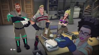 Ghostbusters (2016) gameplay pt1 - A New Team, a Familiar Vomiting Ghost