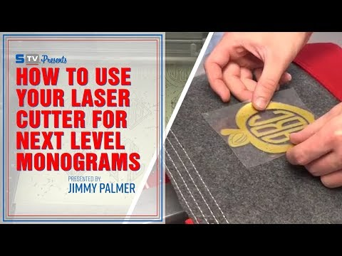 How to Use Your Laser Cutter for Next Level Monograms