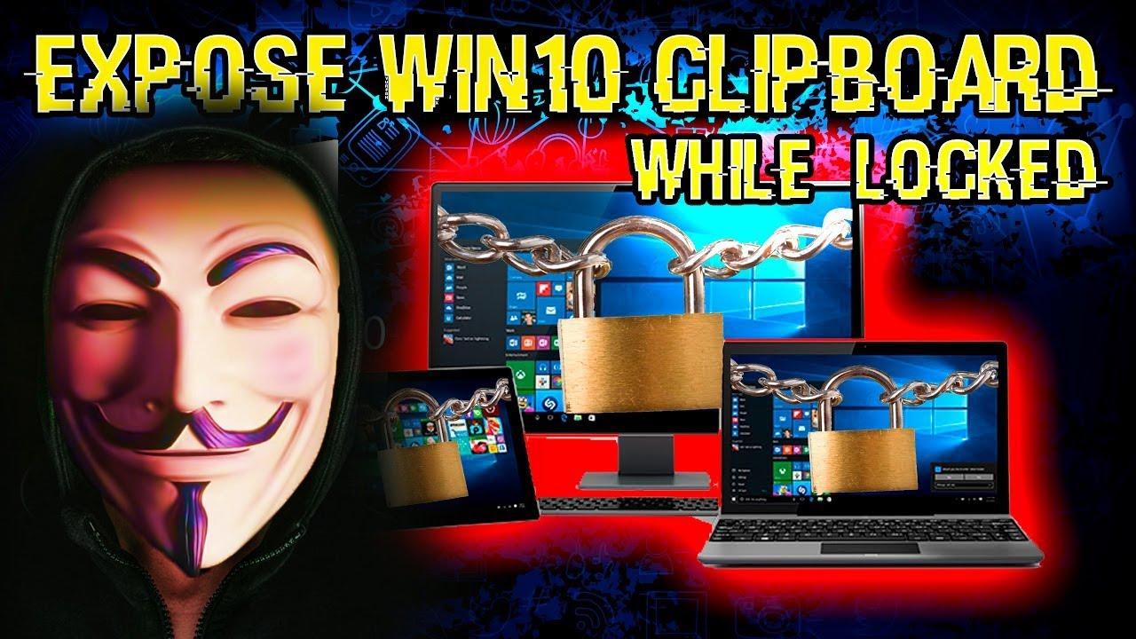 Clipboard windows 10
